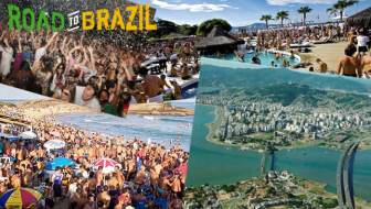 Road To Brazil World Cup Party Spots: Florianopolis